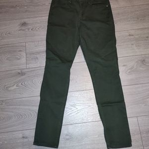 Levi's skinny combat green jeans